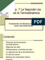 Cap 7 Máquinas Térmicas y segunda ley de la Termodinamica