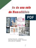 DISEÑO DE UNA SALA DE HEMODIALISIS
