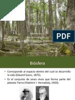 Clase Biosfera