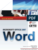 Manual Word 2007 Spanish