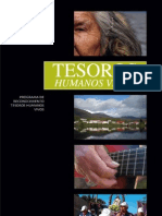 Tesoros Humanos Vivos. Programa de Reconocimiento de Tesoros Humanos Vivos. (2009)