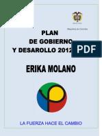 Plan de Gobierno 2012-2016 Parti Progresista