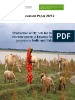 Productive Safety Net Women in Extreme Poor-India and Pakistan
