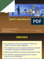 Chap003(C7 Maimunah)- Safety and Health at Work