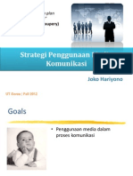 SKOM4314 #6 - Strategi Penggunaan Media Komunikasi