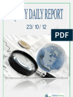 Daily Equity Report By Global Mount Money 23-10-2012