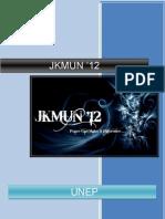 Background Guide UNEP JKMUN'12