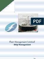 Fleet Management Limited - Ship Management