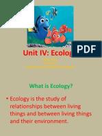 Ecology PRA