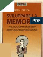 Sviluppare La Memoria - Harry Lorayne
