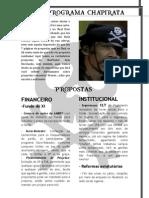 Carta-Programa ChaPirata