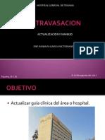 Presentacion de Extravasacion - Ranny - Agosto 2012