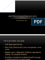 Whitfield Election Overview 2012