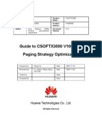 Guide to CSOFTX3000 V100R006 Paging Strategy Optimization
