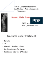 1 Management of Current Osteoporotic Fracture During Medical Treatment Ppt