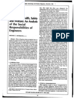 Health Safety Welfare Social Responsibility