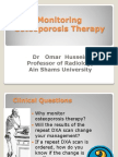 Monitoring Osteoporosis Therapy F