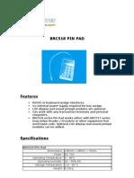 Brc518 Pin Pad