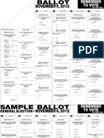 Lancaster County, NE Sample Ballot November 6, 2012