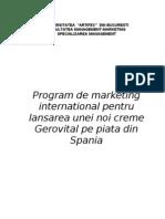 Plan de Afacere GEROVITAL