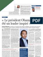 Le Soir, 20/10/2012