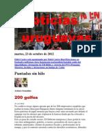 Noticias Uruguayas Martes 23 de Octubre Del 2012