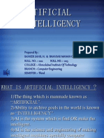 Artificial Intelligency