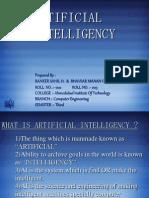 Artificial Intelligency
