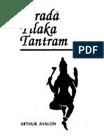 Sharada Tilak Tantram - Arthur Avalon