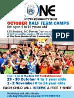 October Half Term - Football Camps