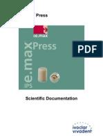 ips e max press scientific doc