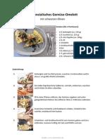 Provenzalisches Gemüse-Omelett