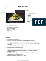 Zucchini Puffer