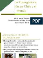 Charla Transgénicos María Isabel Manzur