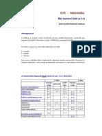 Elte matematika BSc(2010) tanrend