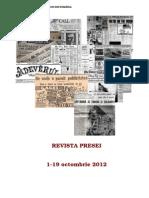 Revista presei 1-19 octombrie 2012