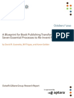 Outsell Gilbane Blueprint For Publishing Report Oct2010(1)