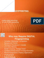 Digital Fingerprinting a cutting-edge technology