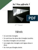 P@Reils Droite Des Milieux
