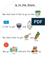 Simple Sight Word Rebus Readers