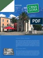 Crna Gora Turisticka Destinacija