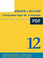 Saúde Infantil e Juvenil - Programa-tipo de Actuação