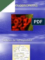 Clase Hemoglobinopatias