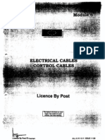 3 Electrical Cables Control Cables