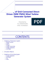 Modelling of Grid-Connected Geared 2MW PMSG Wind Turbine Generator (1)