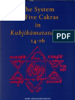 The System of Five Chakras in Kubjikamata Tantra - Dory Heilijgers-Seelen