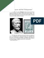 Pythagoras and Polygonal Numbers