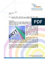 Letter to  Government Delegations of the International Telecommunication Union for Bangladesh