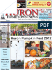 Huron Hometown News - October 18, 2012