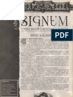 Signum 2. - Kalandötlet